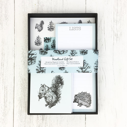 Woodland Stationery Gift Set