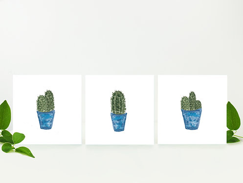 Cactus Notecards (3 pack)