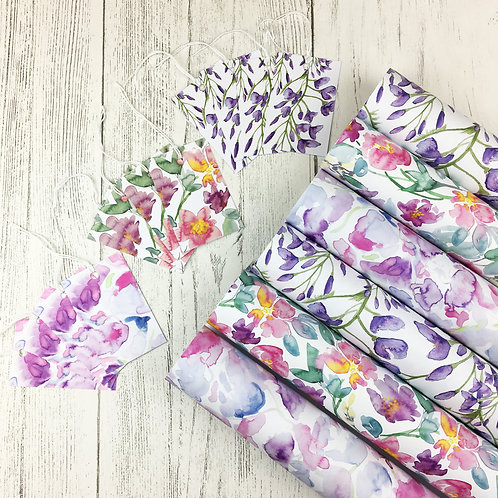 Floral Gift Wrap Bundle