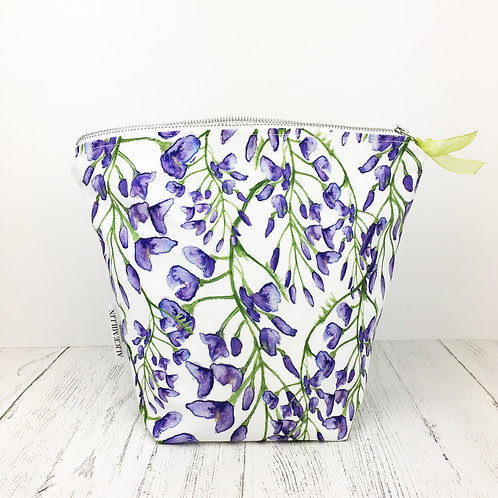 Wisteria Wash Bag