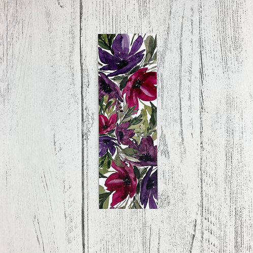 Buds and Blooms Floral Bookmark