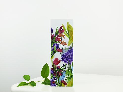 Floral Fiesta Bookmark