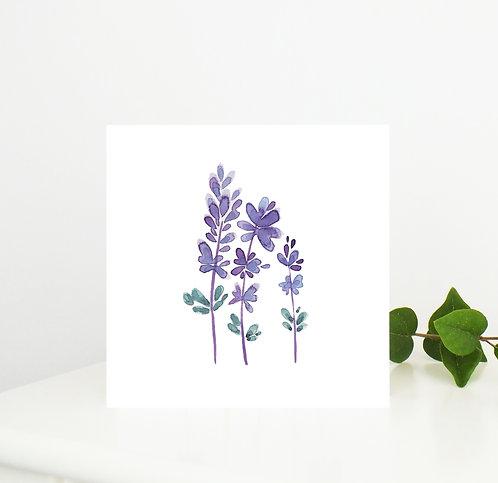 Lavender Shades Card