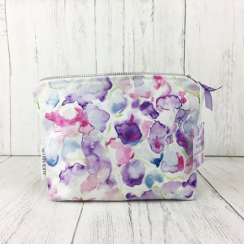 Sweet Pea Makeup Bag