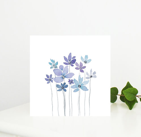 Delicate Stems Card