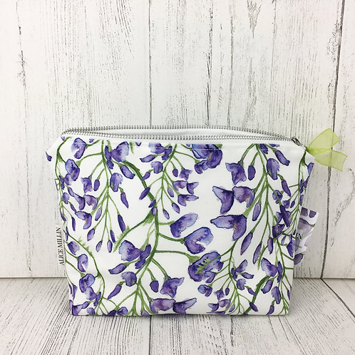 Wisteria Makeup Bag