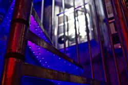 7Gate Media_Silver Studios - Spiral Staircase