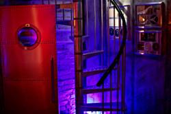 7Gate Media_Silver Studios - Spiral Staircase side