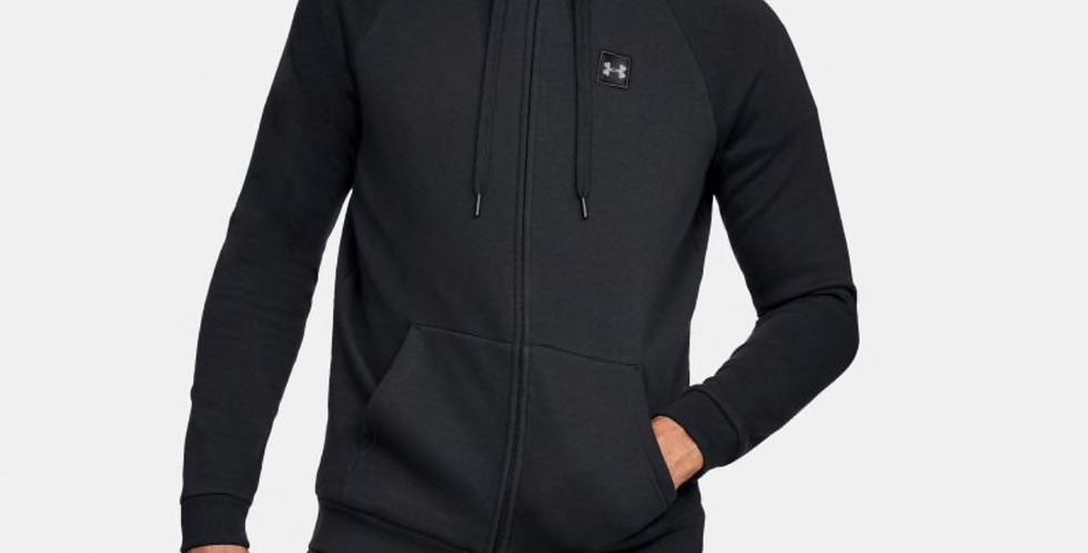 UA Mens Rival Fleece Full Zip Hoodie