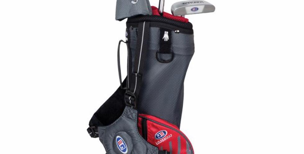 UL39-s 3 Club Carry Set, Grey/Red Bag