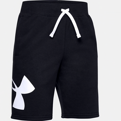 UA Jnr Rival Fleece Logo Shorts