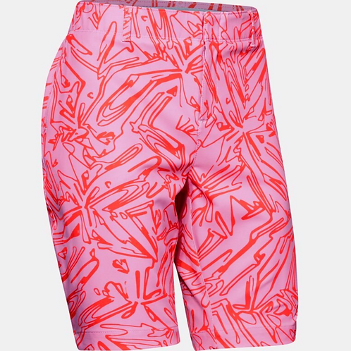 UA Ladies Links Printed Short