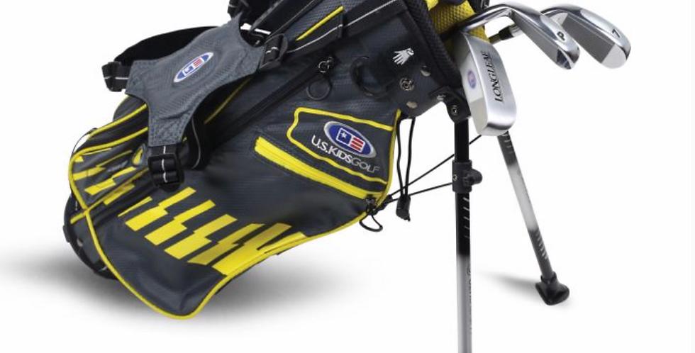 UL42-s 4 Club Stand Set, Grey/Yellow Bag