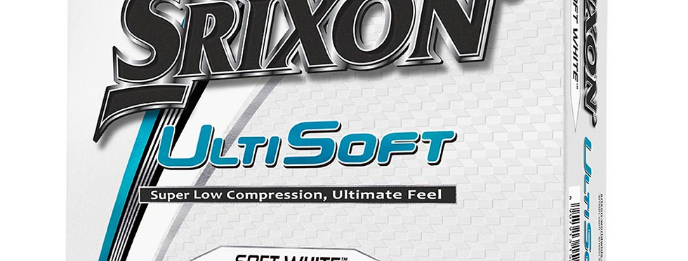 Srixon UltiSoft Dozen Balls