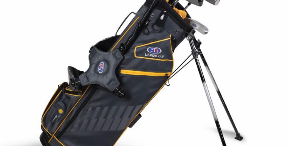 UL63-s 5 Club Stand Set, Grey/Gold Bag