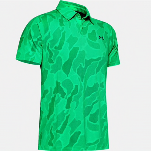 UA Mens Vanish Jacquard Polo