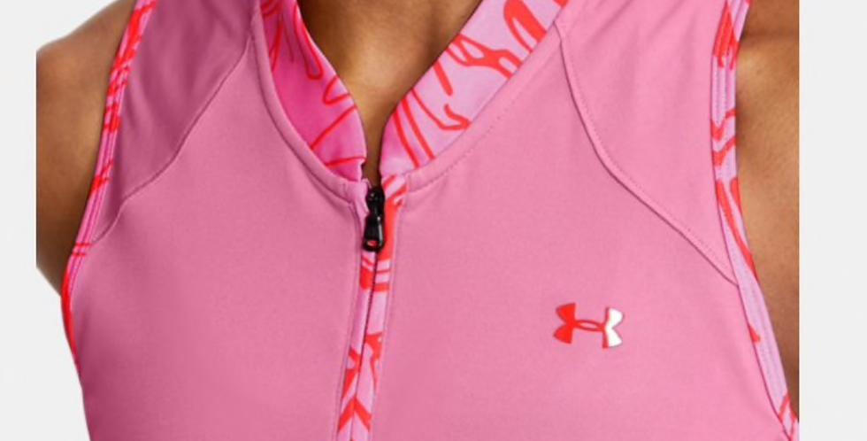 UA Ladies Zinger SL Zip Polo