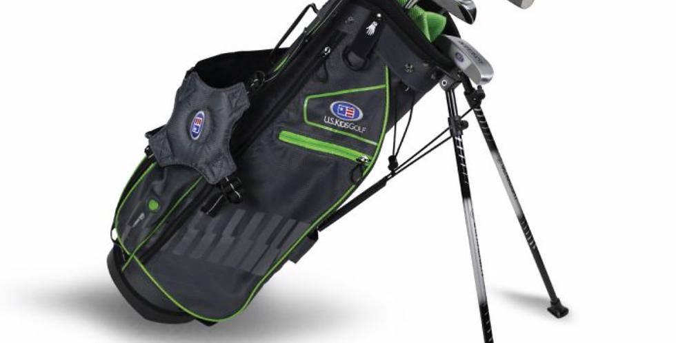 UL57-s 5 Club Stand Set, Grey/Green Bag
