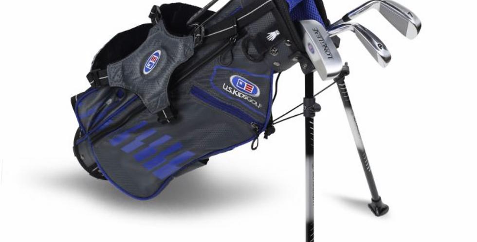 UL45-s 4 Club Stand Set, Grey/Blue Bag