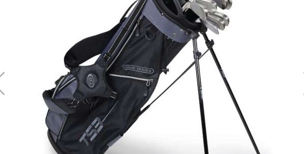 TS3-66 7 Club Set, Combo Shafts, Charcoal/Black Bag