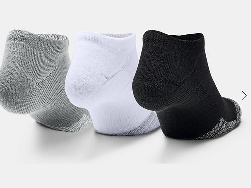 UA Heatgear Ankle Socksx3