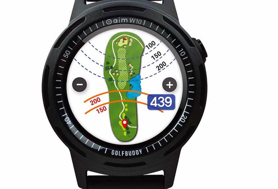 GolfBuddy Aim W10 GPS Watch