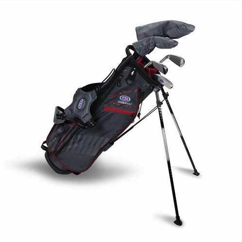 UL60-s 5 Club Stand Set, Grey/Maroon Bag