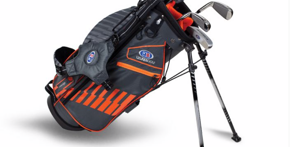 UL51-s 5 Club Stand Set, Grey/Orange Bag