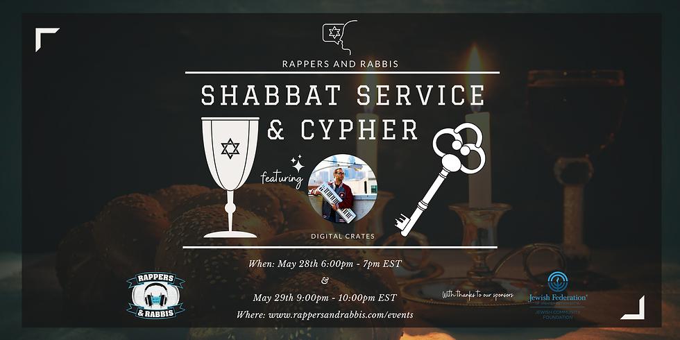 Shabbat Service & Cypher 2