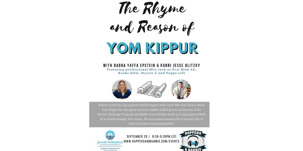 The Beat Midrash Community: The Rhyme and Reason of Yom Kippur