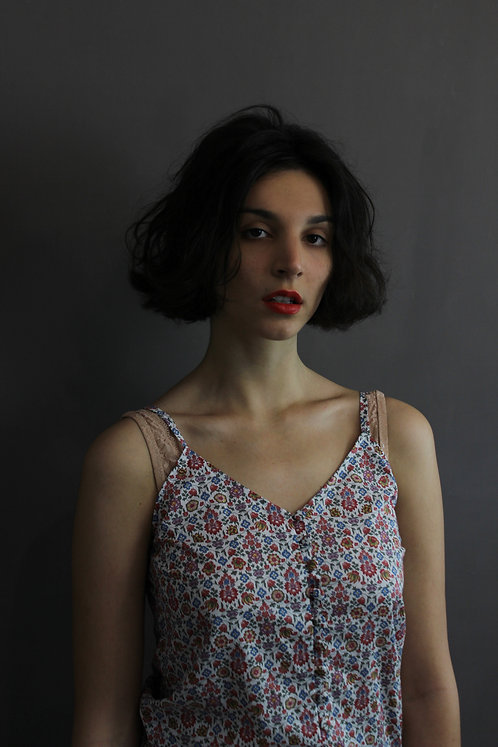 Liberty flowered Top