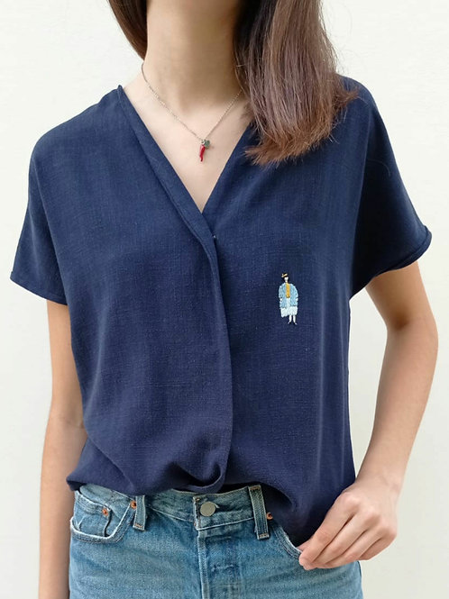 Fanny blouse -limited edition- #4A
