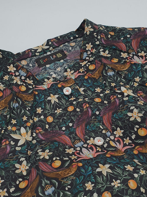 Liberty fabric blouse