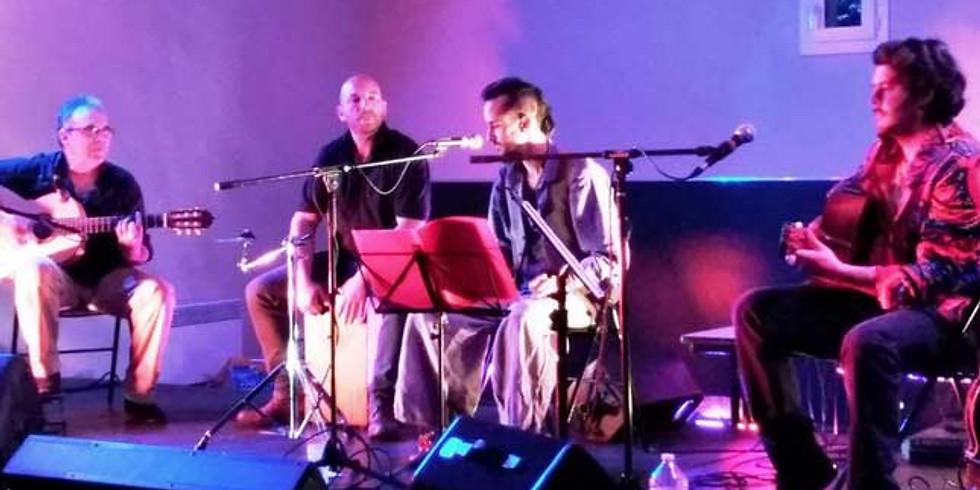 Soirée musicale dans le jardin - dîner concert avec Caledjo (rumba latino)