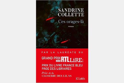 Sandrine COLLETTE - Ces orages-là