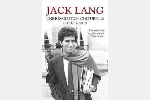 Jack LANG - Une révolution culturelle