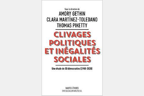 A. GETHIN, C. MARTINEZ-TOLEDANO, T. PIKETTY - Clivages politiques et inégalités