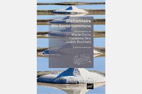 Marie CORNU, Fabienne ORSI, Judith ROTHFELD - Dictionnaire des biens communs