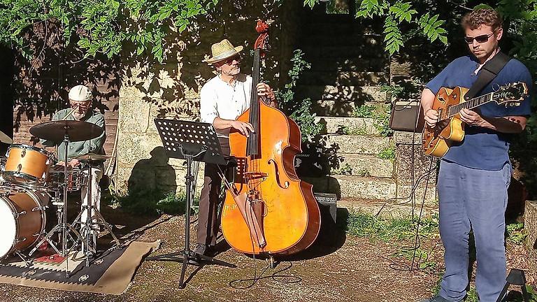 Dîner concert dans le jardin avec Jazz Appassionato (Swing)