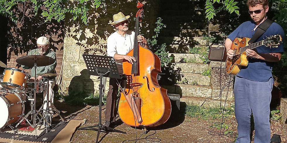 COMPLET : dîner concert dans le jardin avec Jazz Appassionato (Swing)