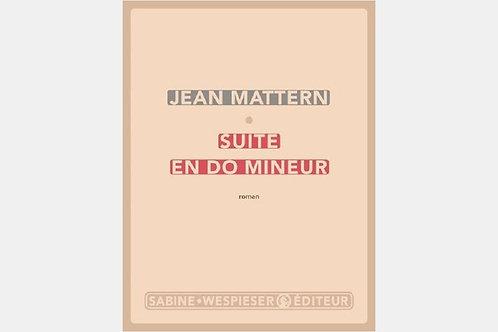 Jean MATTERN - Suite en do mineur