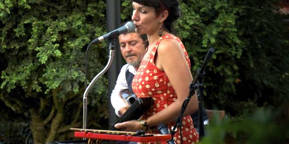 Dîner concert dans le jardin avec Lina Modika - Chanson Pop Folk