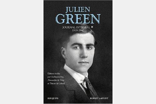 Julien GREEN - Journal intégral 1919 - 1940