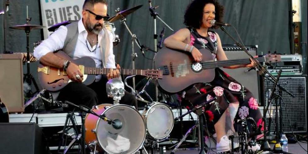 Dîner concert dans le jardin avec La Bedoune - American black music