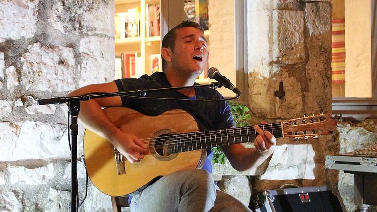 Dîner concert dans le jardin avec Teteu et Benj Roques - musique brésilienne
