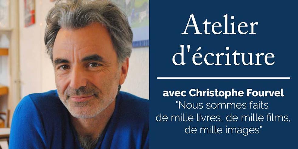Atelier d'écriture avec Christophe Fourvel