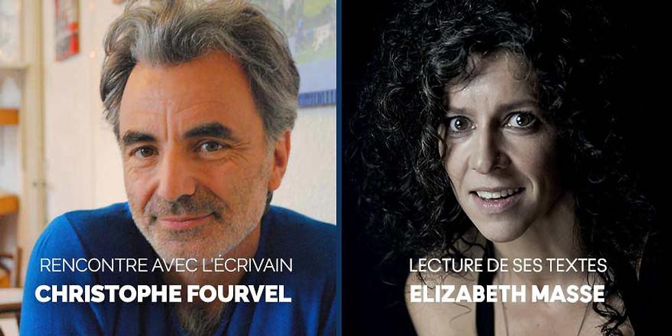 Lecture - rencontre avec l'écrivain Christophe Fourvel