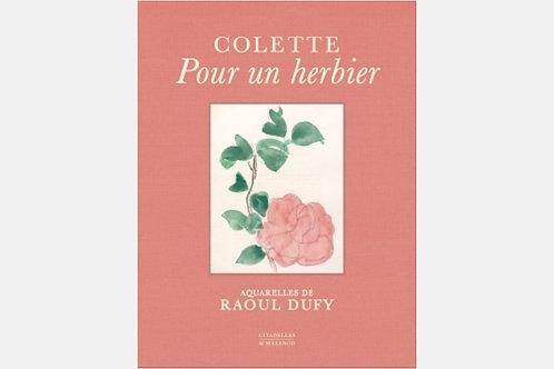Colette - Pour un herbier