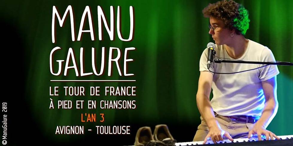 Manu Galure en concert - COMPLET