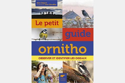Marc DUQUET & Jean CHEVALLIER - Le petit guide ornitho